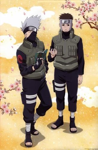卡卡西 and Yamato