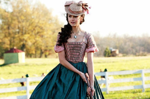 Katherine Pierce Hintergrund probably with a polonäse, polonaise and a kirtle entitled Kath