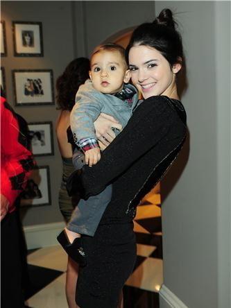 Kendall & nephew Mason <3