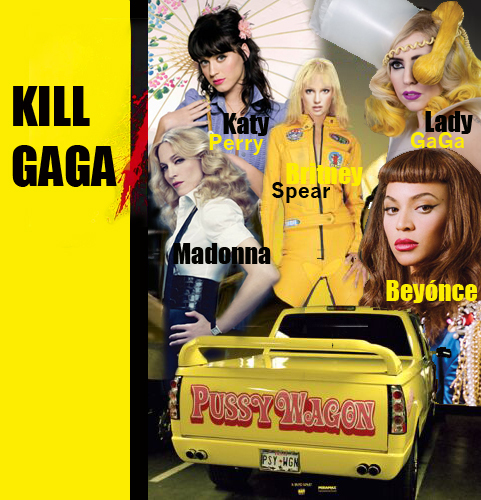 Kill GaGa (Madonna Promo) - madonna Photo