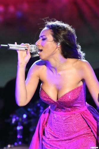 Leona @ OrangeDrive New Years Eve konsert 2011