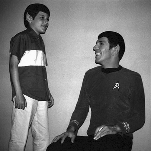 Leonard and Adam Nimoy - leonard-nimoy Photo