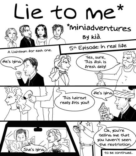 Lie to me miniadventures 5th