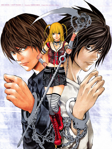 Light, Misa and L(デスノート)