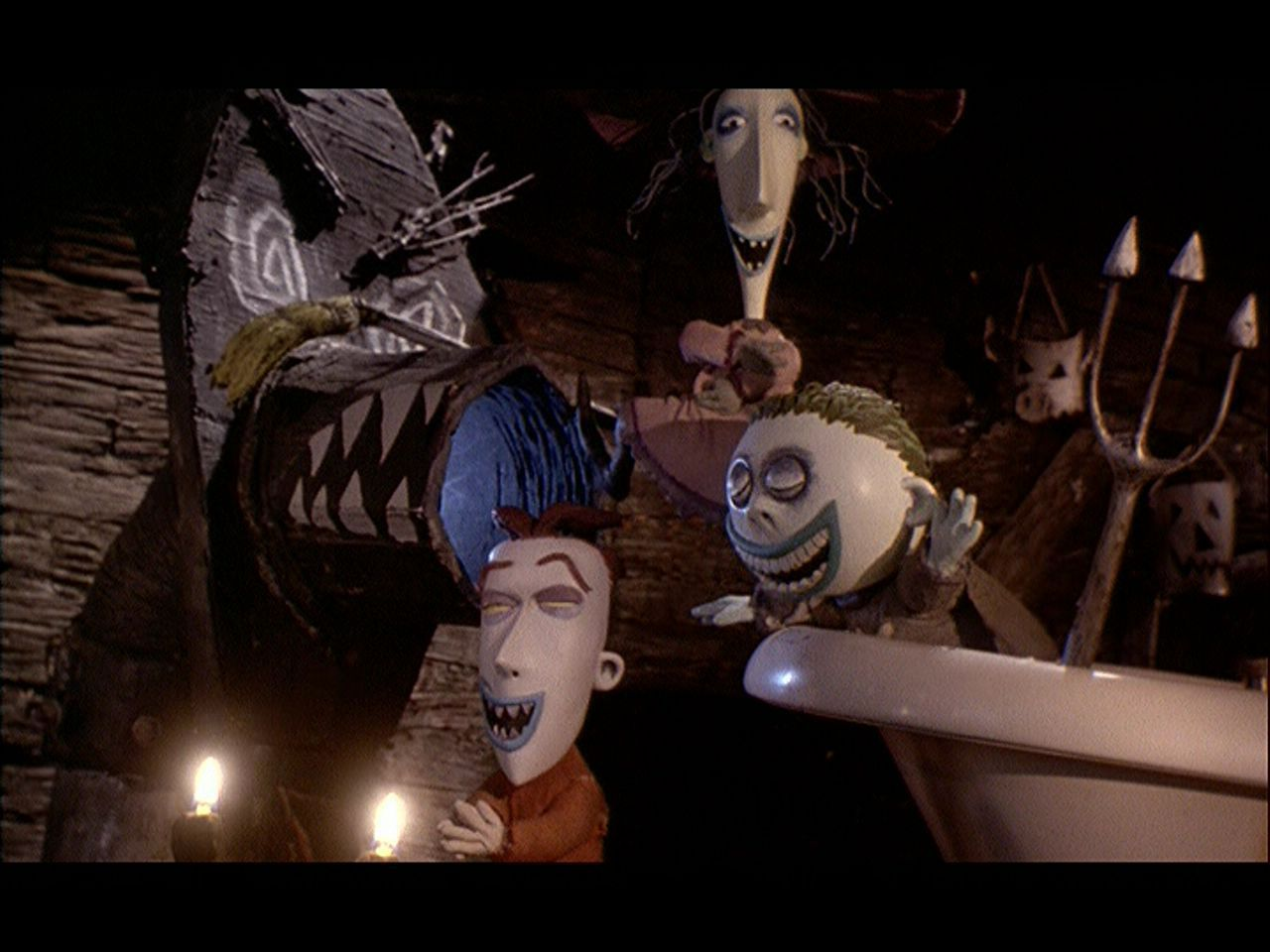 the nightmare before christmas film As adapted by michael mcdowell and scripted by caroline thompson, this 1993  release is at worst a macabre muppet movie, at best an inspired jaunt the set.