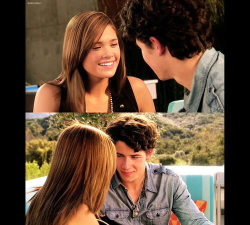 """Macy and Nick from """"The Secret"""""""