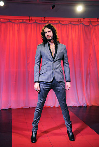 Madame Tussands-Wax statue of Russell