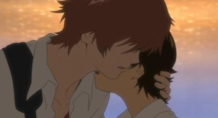The Girl Who Leapt Through Time-Movie fond d'écran probably containing a portrait titled MakotoXChiaki