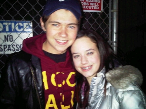 Me and Damian Mc Ginty in Detroit, Michigan-December 2, 2010