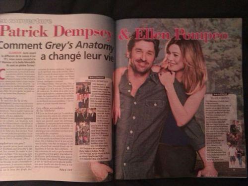 MerDer/Grey's artikulo on french magazine!!