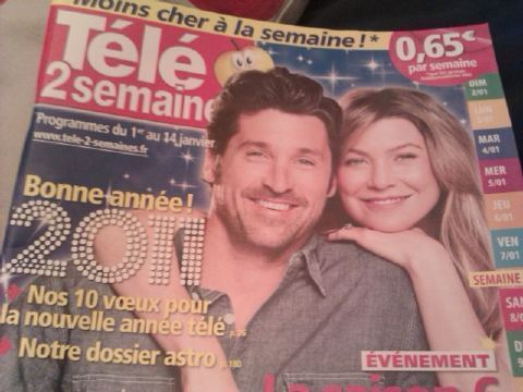 MerDer on a reciente french magazine!!