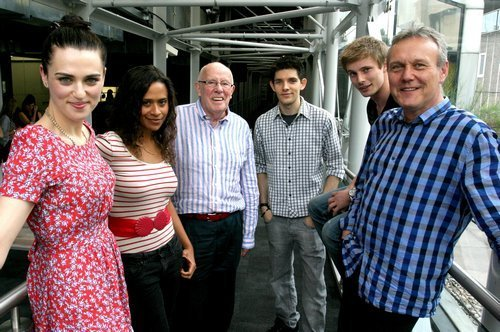 Merlin Cast at BFI Screening