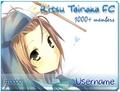 MyAnimeList Ritsu Tainaka FC Member Cards