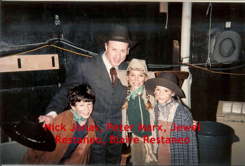 "Nick Joans on ""Annie Get Your Gun"" as Little Jake"