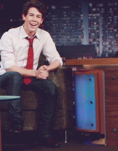 Nick Smiling:))