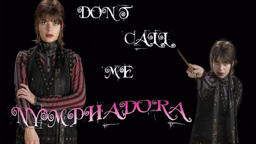 tonks fondo de pantalla containing a sign entitled Nymphadora tonks
