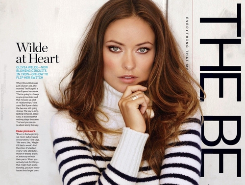 "Olivia Wilde in January/February 2011 issue of ""Men's Health"""