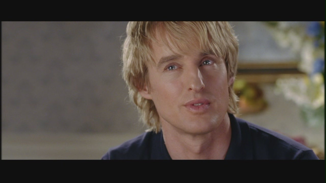 "Owen Wilson in ""Wedding Crashers"""