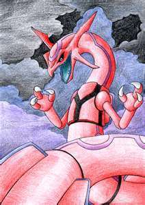 PINK RAYQUAZA!