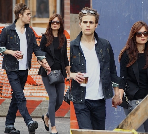 Paul Wesley and Torrey DeVitto images Paul & Torrey wallpaper and background photos