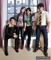 Photoshoot with Jonas Brothers