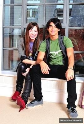 Photoshoot with Jonas Brothers
