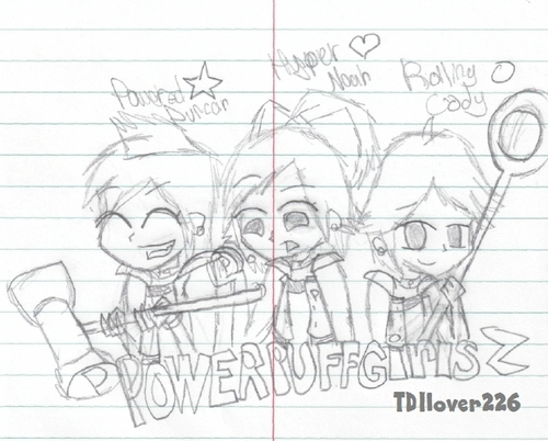Powerpuff Girls Z? -SKETCH-
