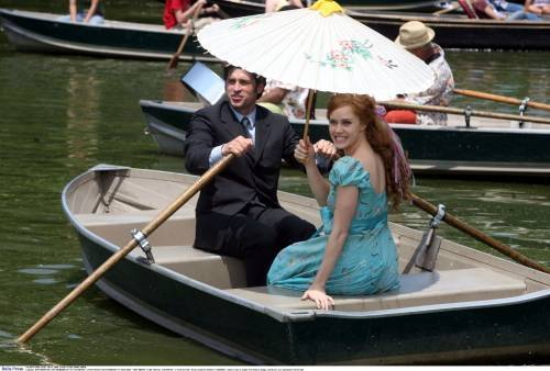 Riselle(Robert/Giselle) Enchanted wallpaper probably with a canoe called Riselle(Adams &Dempsey)