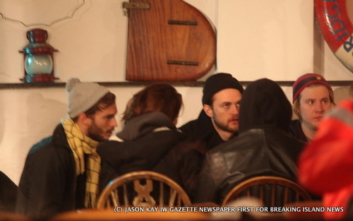 Rob and Kristen at IOW
