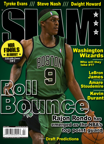 Rajon Rondo Hintergrund possibly containing Anime called SLAM magazne