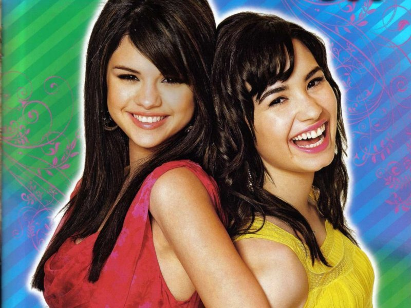 selena gomez and demi lovato one and. selena gomez and demi lovato
