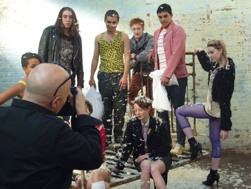 Series 5 Behind the Scenes of the Promo Pic Shoot