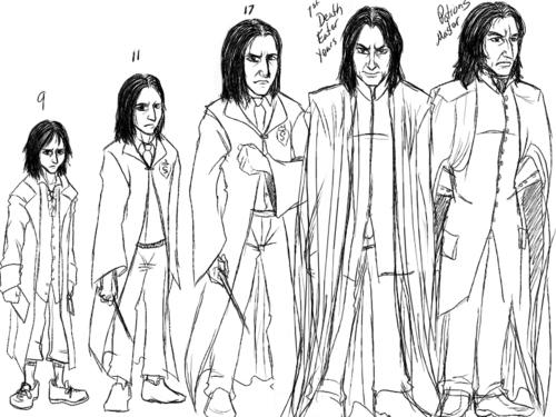 Severus Snape Timeline