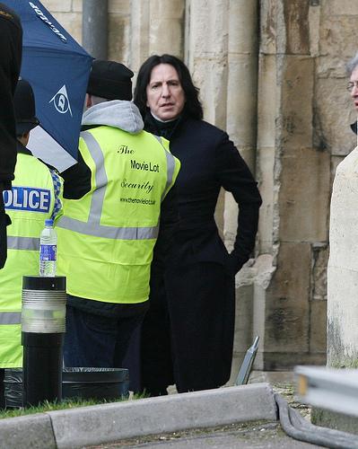 Severus Snape outside new xD