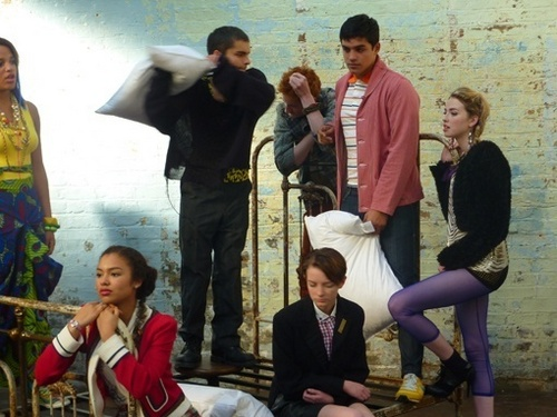 Skins Series 5 Behind the Scenes of the Promo Pic Shoot