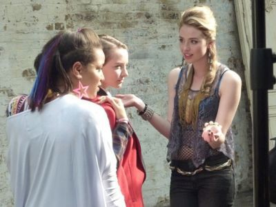 skins Series 5 Behind the Scenes of the Promo Pics Shoot