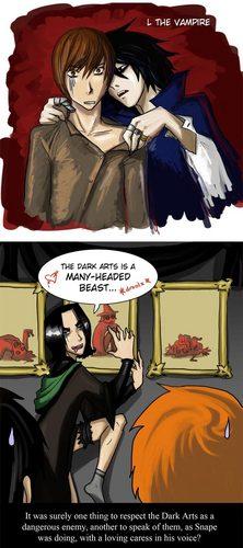 Snape - Dark arts