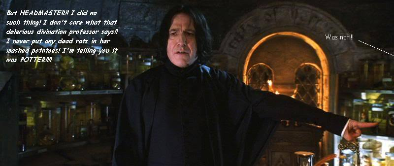 Snape Is Caught