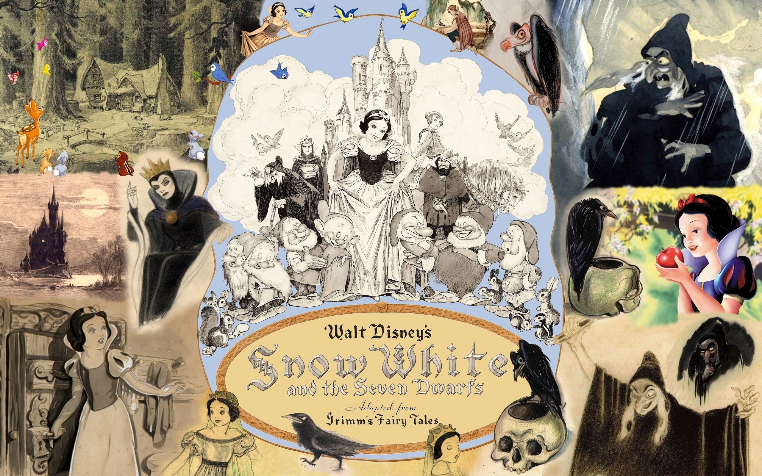 Walt disneys snow white and the seven dwarfs by walt disney - from aleph-bet books, inc and bibliocouk