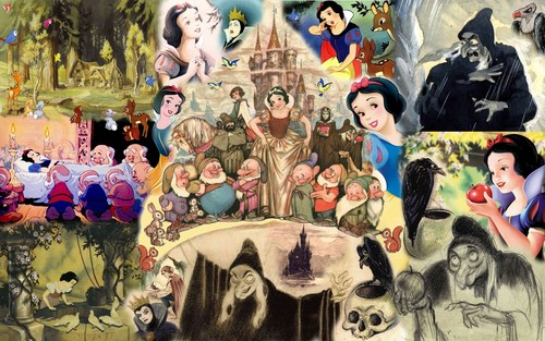 Branca de Neve e os Sete Anões wallpaper with animê called Snow White