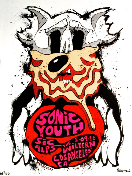Sonic Youth Oboi Sonic Youth Rock Poster Oboi And Background Foto