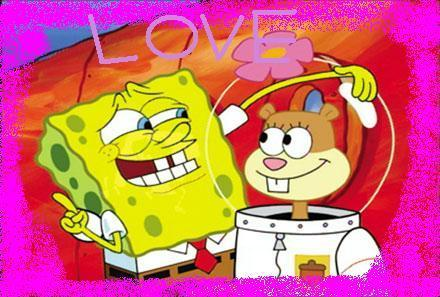 Spongebob and sandy love