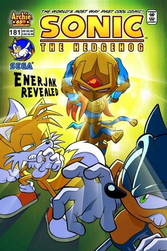 "Miles ""Tails"" Prower wallpaper containing anime titled Tails in ""Enerjak Revealed"""