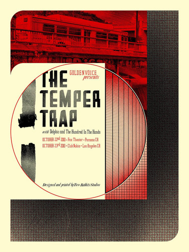 Temper Trap Rock Poster