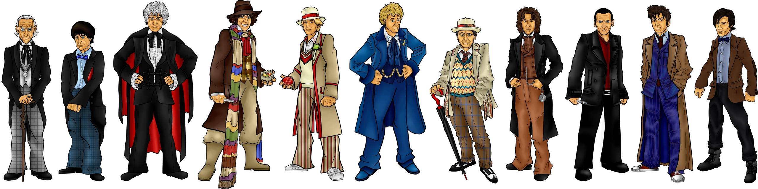 Doctor Who The Doctors
