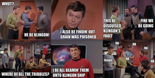 The Troubles with Tribbles