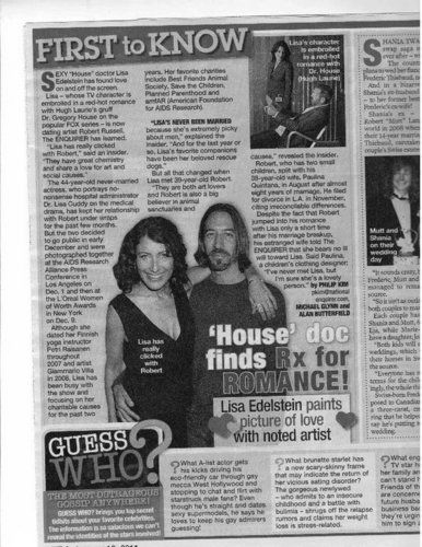 The scan of the artikel on the National Enquirer