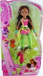 Winx Club Layla doll in 音乐会