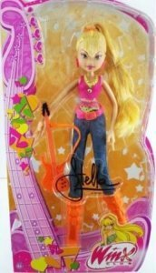 Winx Club Stella doll in concierto