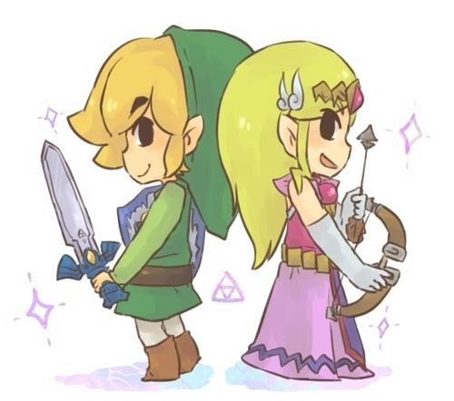 Zelda/Link <3